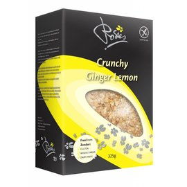 Rosies Crunchy lemon ginger, 325 grams