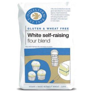 Doves Farm Self-raising mel, kage mix, 1 kg