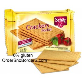 Schar Crackers, 3 packages