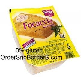 Schar Pain focaccia Sandwich, 200 grammes