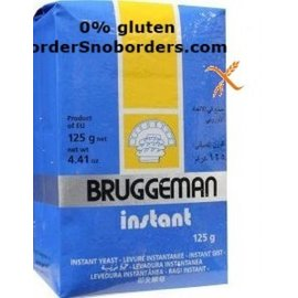 Diversen Gist, instant - Bruggeman -125 gram