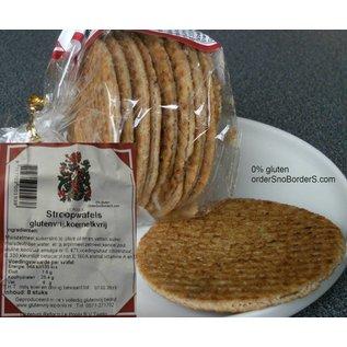 Varia Sans gluten Sirop Gaufres, 8 pièces, lait