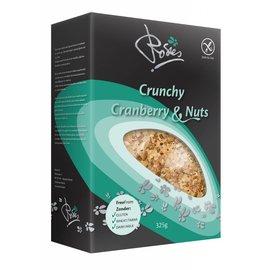 Rosies Crunchy tranebær og valnød - 325 gram