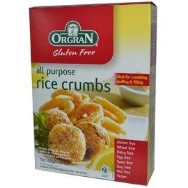 Orgran Crumbs von Reis, 300 Gramm