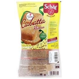Schar Ciabatta Rustica - 4 x 50 gram