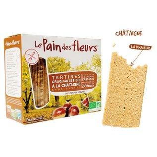 Le pain des fleurs craquelins de châtaignier
