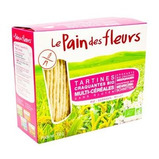 Le pain des fleurs Multigrain kiks, 2 x 75 g Bio