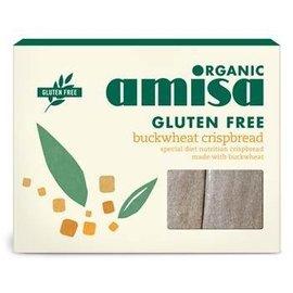 Amisa Boghvede vafler, organisk - 6 x 25 g