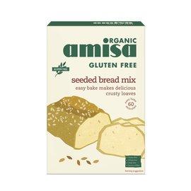 Amisa Brød mix med frø økologisk 500g