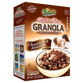 SamMills Granola chokolade og mandler