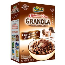 Varia Granola chocolate and almonds