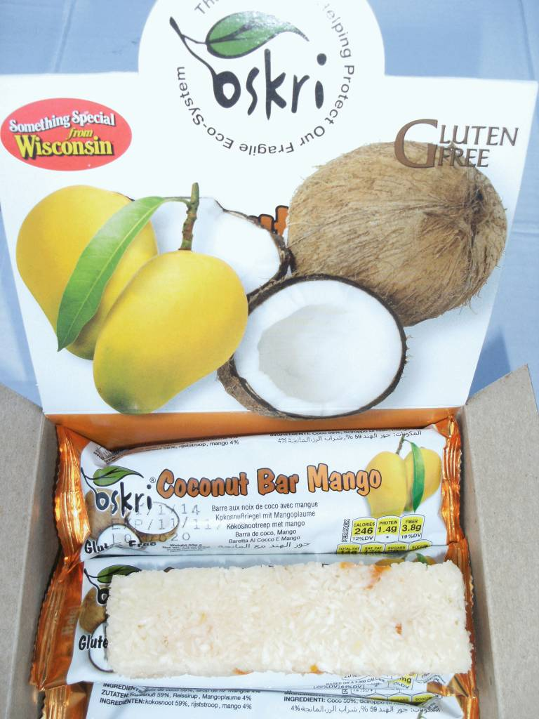 Coconut Mango Bar
