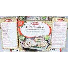 Semper Leinsamen Crackers - 230 Gramm