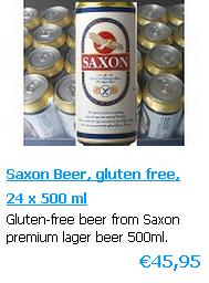 Saxon premium lager Glutenfrei Bier - dosen 500 ml