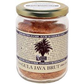 Aman Prana Zucchero fiore di noce di cocco Gula Java Brut 1000 grammi