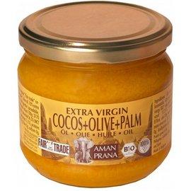 Aman Prana Coconut + Olive + olio di palma rosso 325 ml