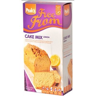 Peaks Gâteau mélange de farine de citron