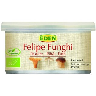 Eden Paté - champignon - vegetar - 125g - økologisk