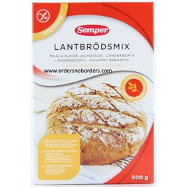 Semper Mix Landbrood 500 gram