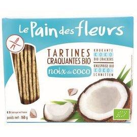 Le pain des fleurs Coconut Crackers bio