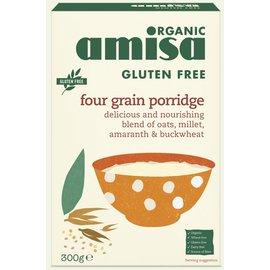Amisa Mehrkornflocken Bio, 300 Gramm