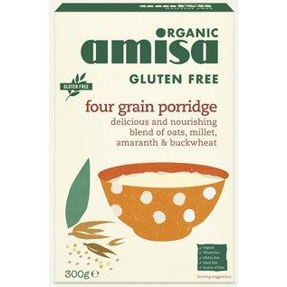 Amisa Flager: havre, hirse, boghvede og pustede amaranth