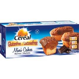 Céréal Mini Cupcakes marmor 6 stykker
