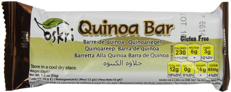 Sesame Quinoa bar