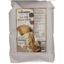 Consenza Brot-Mix - Grau 5 kg