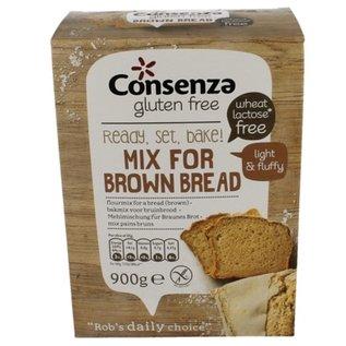 Consenza Brown brød mix 900g