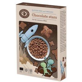 Doves Farm étoiles de chocolat, 375 grammes
