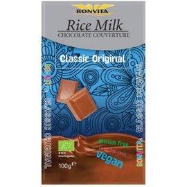Bon Vita Rijstemelk chocolade-reep, 100 gram