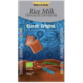 Bon Vita Ris Mælk chokolade bar, 100 gram