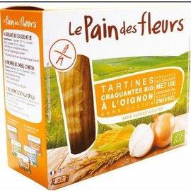 Le pain des fleurs Oignons craquelins - 150g biologiquement