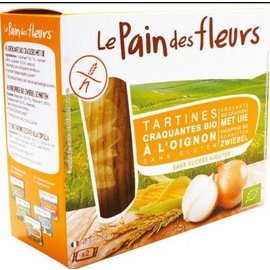 Le pain des fleurs Onions crackers - biologically 150g