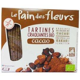 Le pain des fleurs Chocolade crackers bio - 2 x 80 gram