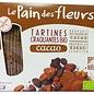 Le pain des fleurs Craquelins de chocolat bio - 2 x 80g