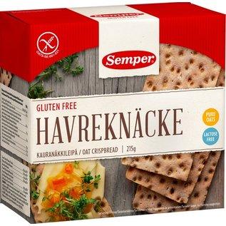 Semper Crispbread avec l'avoine, 215 grammes