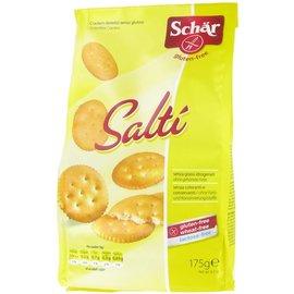 Schar salzige Cracker