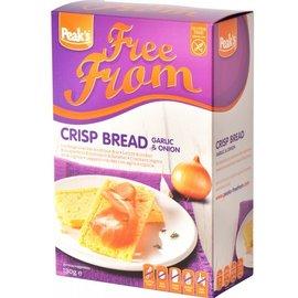 Peaks Crackers knoflook & ui 130 gram