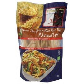 Explore Asian Thailandske brune ris nudler - Økologisk - 226 gram