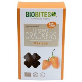 BioBites Raw crackers mexican 4 stuks