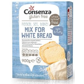 Consenza Brood mix witbrood 900 gram