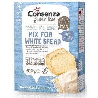 Consenza Hvidt brød, mel mix 900 g