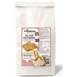 Consenza mix pane multicereali - 5 kg