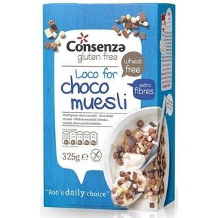 Consenza Multigrain korn choco 325 gram