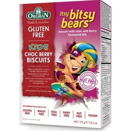 Orgran Bitsy bears, chocolate berries