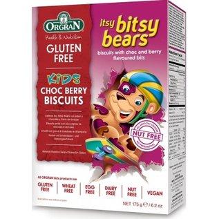 Orgran Itsy bitsy bears, choco bessen