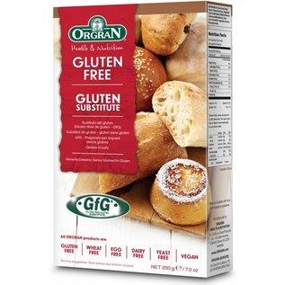 Orgran Binder instead of gluten.