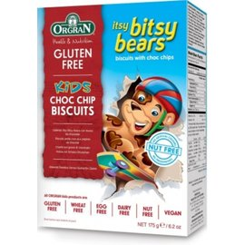 Orgran Bears Chocolate Cookies 175g